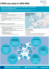 "Poster: ""CPMS use cases in ERN-RND"""
