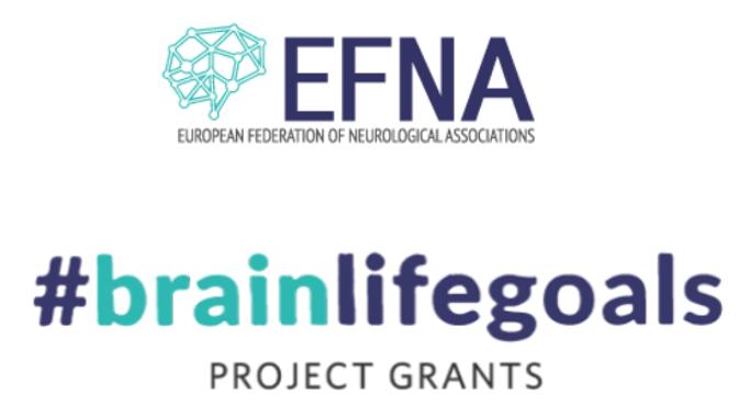 #BrainLifeGoals project grants from EFNA