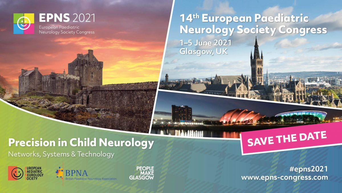 1-5 June 2021 | 14th European Paediatric Neurology Society Congress