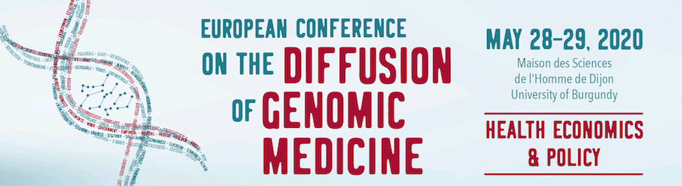28-29 March 2020 | European Conference on the Diffusion of Genomic Medicine CANCELLED