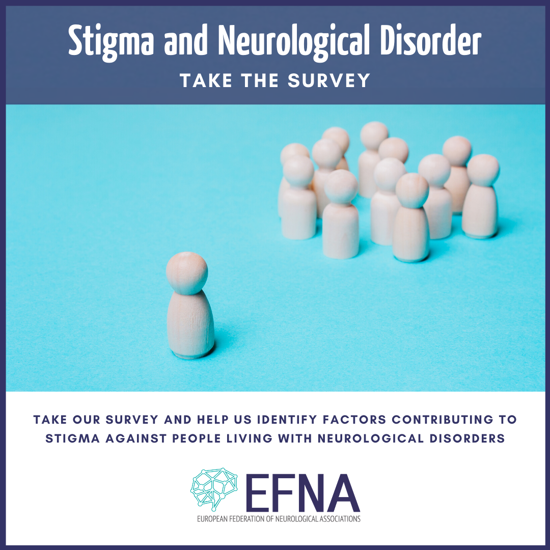EFNA launches survey on stigma & neurological conditions