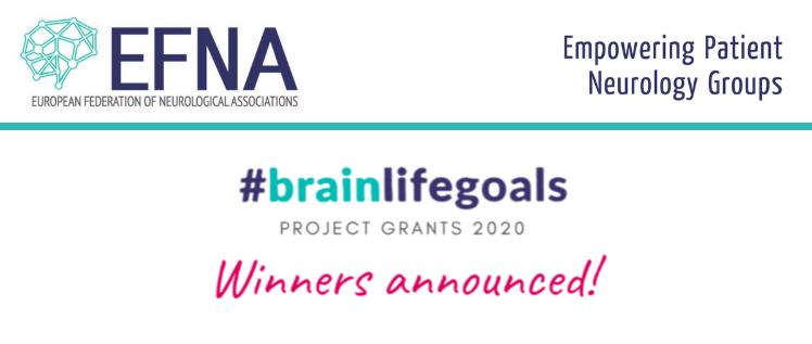 Dystonia Europe & European Huntington Association receive #BrainLifeGoals project grant