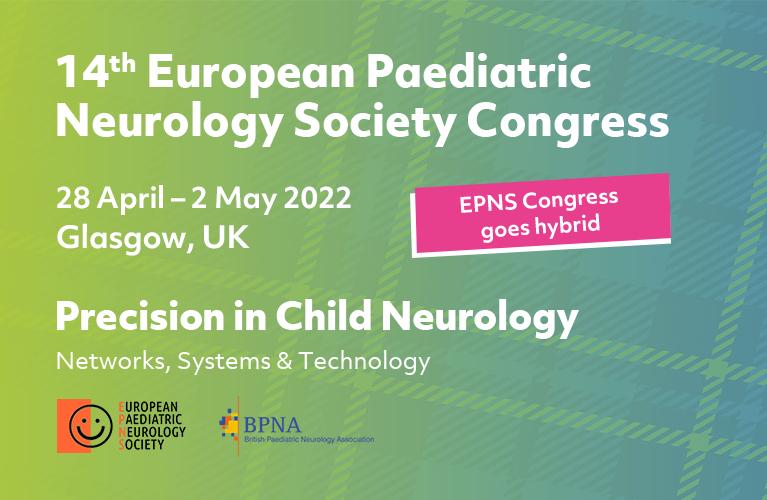 28 April-2 May 2022 | 14th European Paediatric Neurology Society Congress