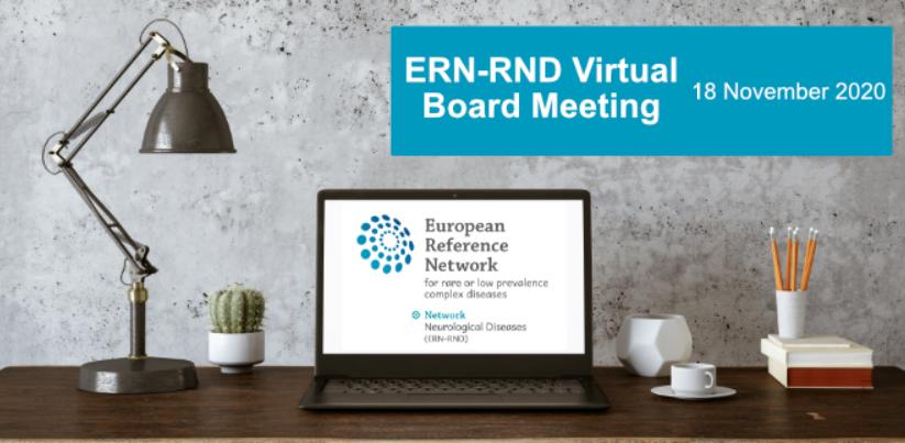 ERN-RND board meeting fall 2020