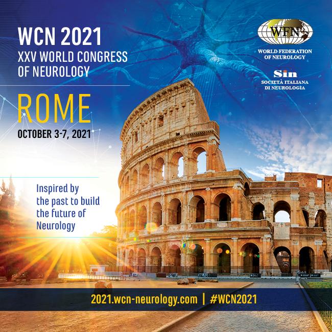 3-7 October 2021 | XXV World Congress of Neurology
