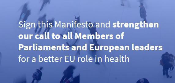 Manifesto for a European Health Union – please SIGN