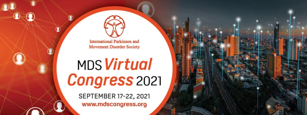 17-22 September 2021 | MDS Virtual Congress 2021