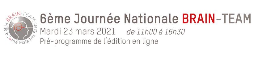 23 March 2021 | 6ème Journée Nationale BRAIN-TEAM