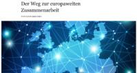 """""""Der Weg zur europaweiten Zusammenarbeit"""" von Holm Graessner"""