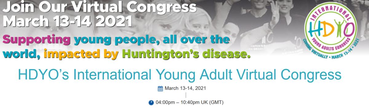 13-14 March 2021 | HDYO's International Young Adult Virtual Congress