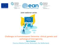 """ERN-RND webinar """"Challenges in Frontotemporal Dementia: clinical, genetic and pathological heterogeneity"""" – recording available"""