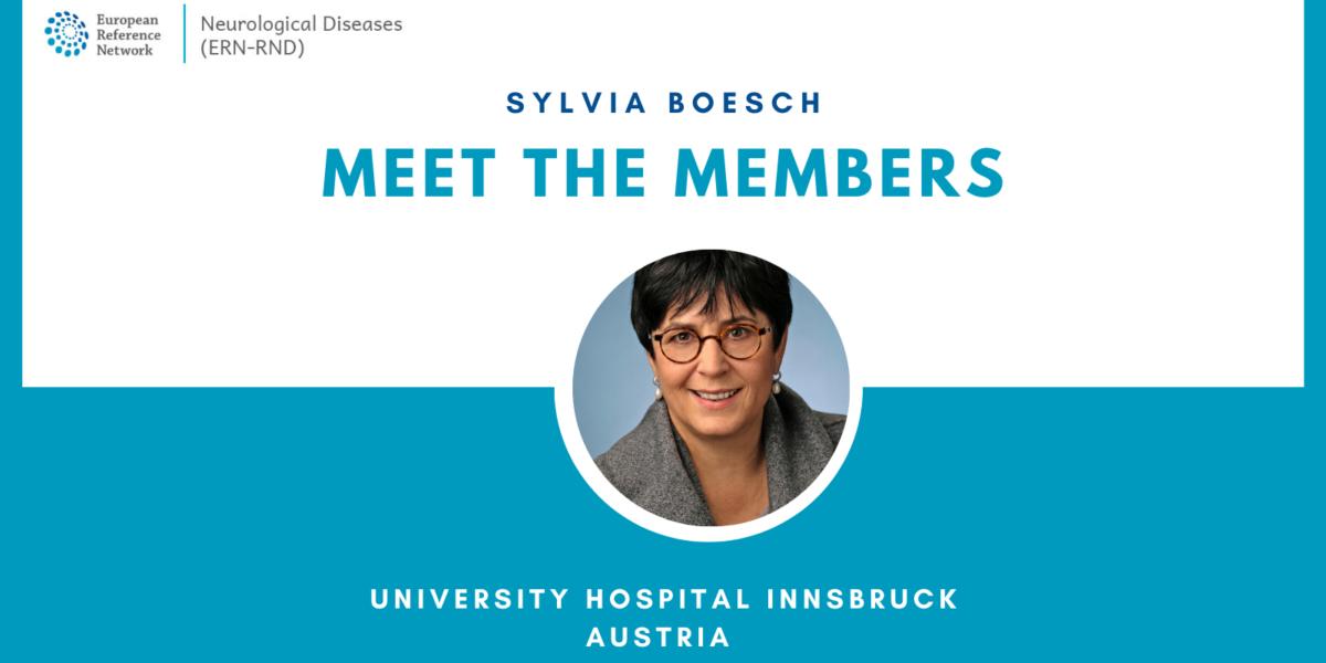'Meet the members' – interview with Sylvia Boesch, University Hospital Innsbruck, Austria