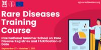 International Summer School on Rare Disease Registries and FAIRification of Data