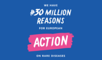 Share your reason for Europe to take action on rare diseases!