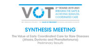 The Value of Treatment for Brain Disorders:Case Studies on Rare Diseases & Mental Disorderspresent findings at SynthesisMeeting