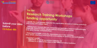 Launch of the ERN Research Training Workshops funding opportunity