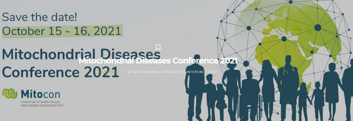 15-16 October 2021 | Italian Mitochondrial Disease Conference 2021