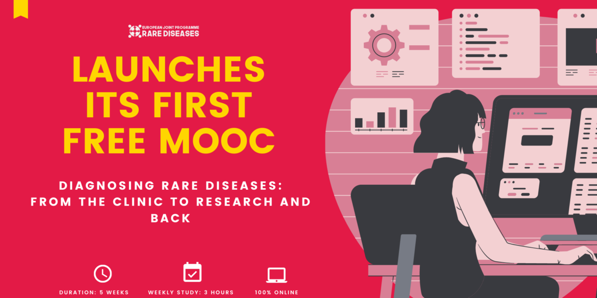 Available from EJP RD:  MOOC Diagnosing Rare Diseases: from the Clinic to Research and back